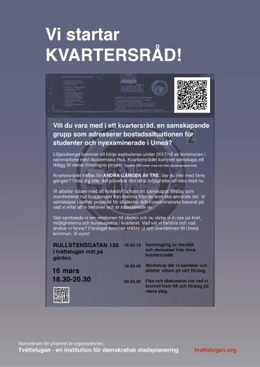 Poster - Tvättstugan 4 SVENSKA